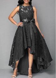 Rochie lungă cu dantelă pentru femei