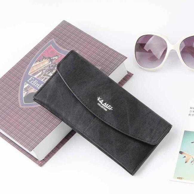 Női pénztárca - hosszúkás boríték  6 színben