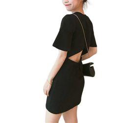 Sukienka damska z odkrytymi plecami TF9977