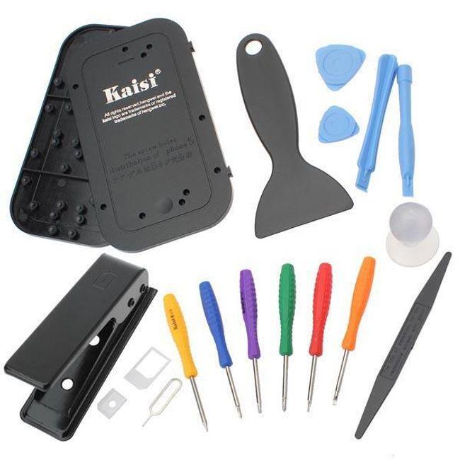 Set od 15 alata za popravku male elektronike 1