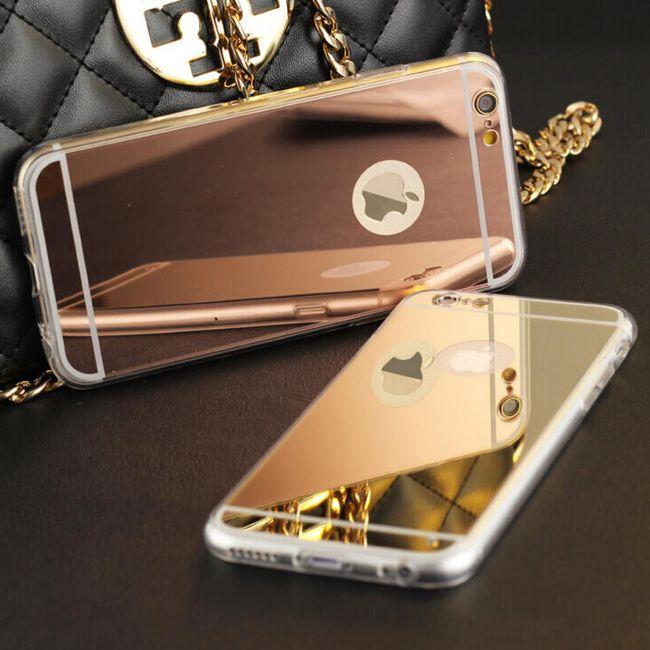 Ovitek za iPhone 5S SE / iPhone 6 plus / iPhone 6 / iPhone 7 - prozorni 1