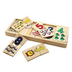 Vzdělávací dřevěná hračka Dullos