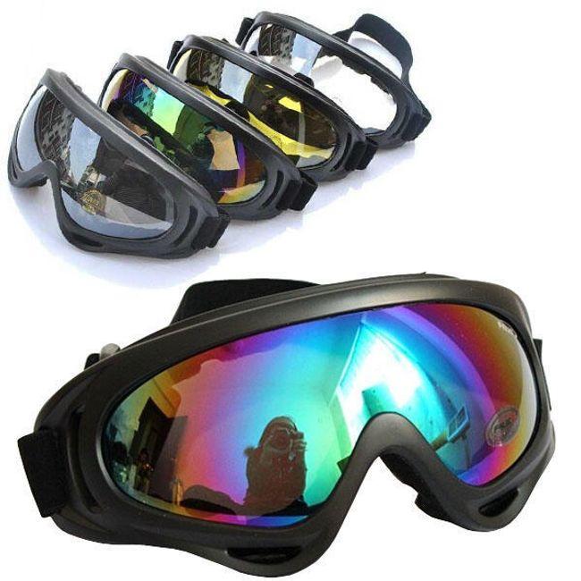 Uniwersalne okulary sportowe - 4 kolory szkła 1