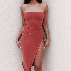 Damska sukienka bez ramiączek Coralie