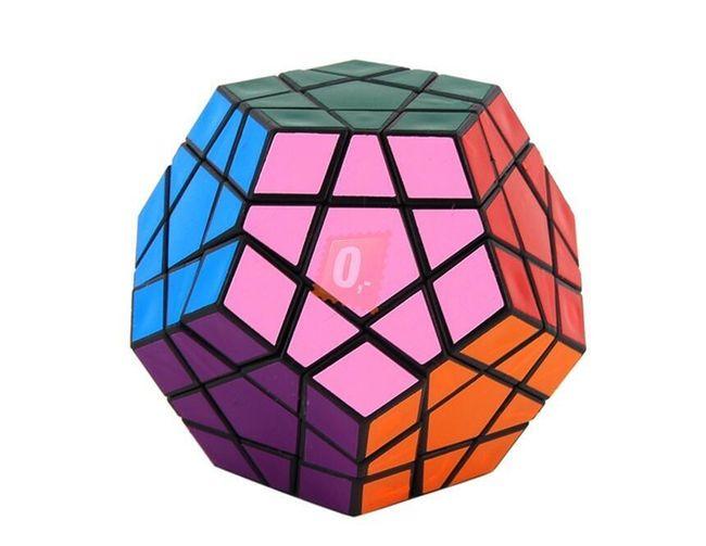 Rubikova kostka - hranatá koule, 12 stěn 1