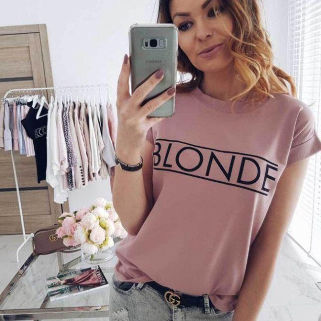Дамска тениска с къси ръкави Lise 1
