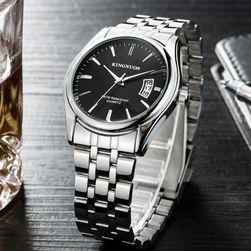 Unisex zegarek z metalowym paskiem - 4 kolory
