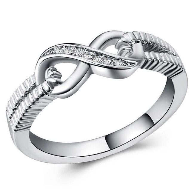 Ženski prsten B03738 1
