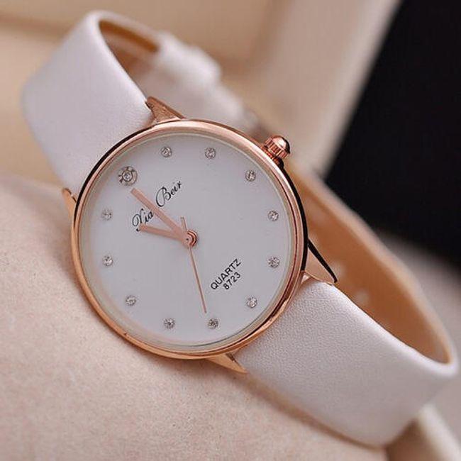 Ležérní hodinky - 4 barvy 1