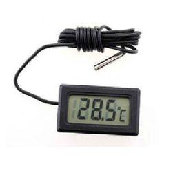 Миниатюрен LCD дигитален термометър за автомобил, жилище или температурата на водата
