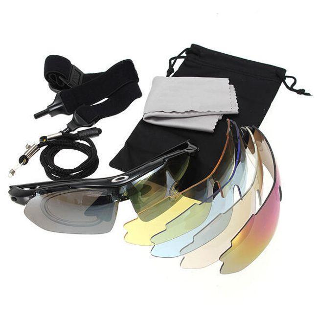 Sportovní brýle s vyměnnými polarizovanými skly + bohaté příslušenství 1