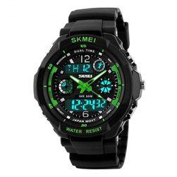 Zegarek męski LED - żywe kolory