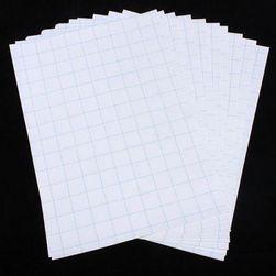 Papir za peglanje slika na tekstil - 10 kom