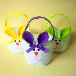 3 velikonoční košíčky ve tvaru králíčka