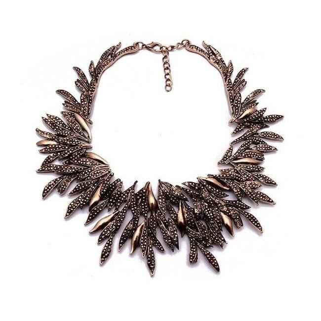 Dámský večerní náhrdelník - 3 barvy 1