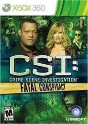 Igre (Xbox 360) CSI: Crime Scene Investigation Fatal Conspiracy