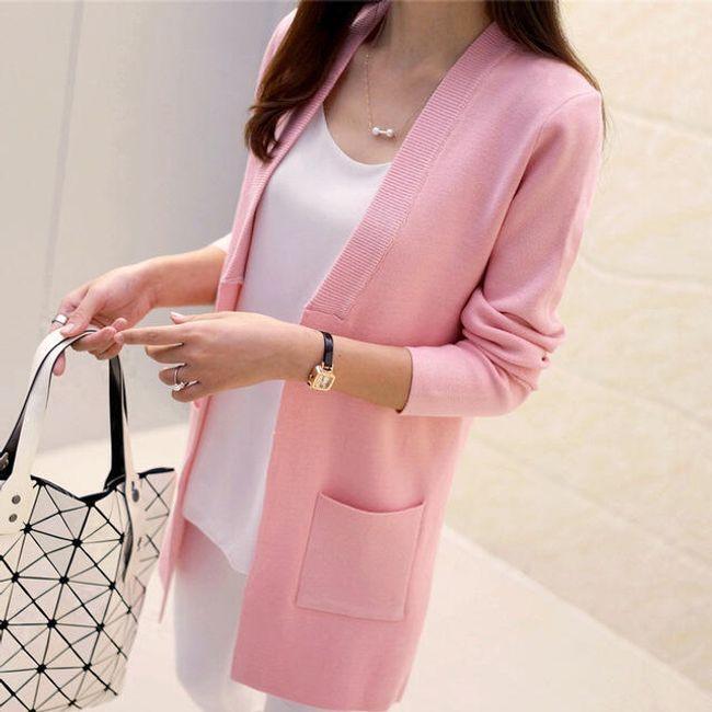 Elegantna jopica z žepi - več barv 1