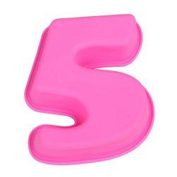 Silikonska forma u obliku brojeva - brojevi 0 - 9