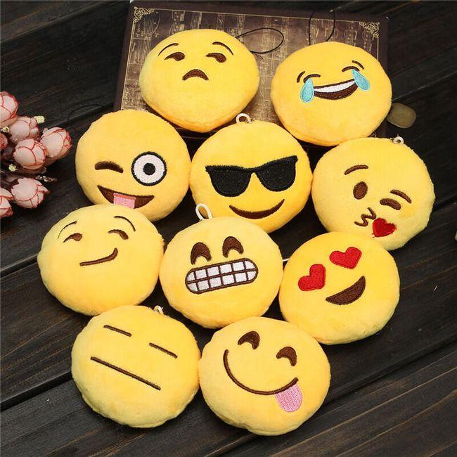 Kulcstartó hangulatjelek formában - 10 változat 1
