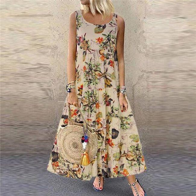 Dámské šaty bez rukávů Maurelle 1