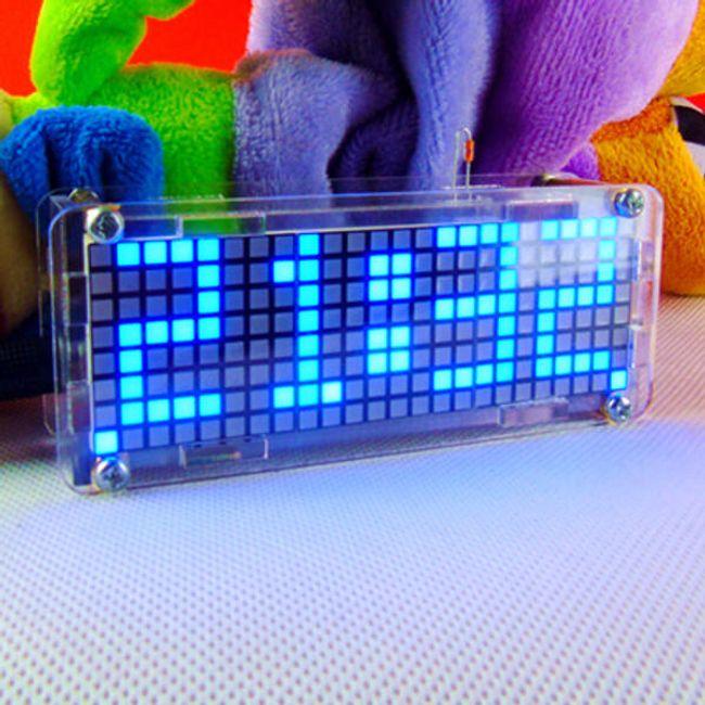 Komplet za sestavljanje digitalne LED ure 1