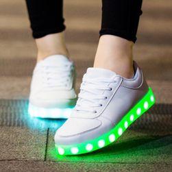 Işıklı üniseks spor ayakkabıları Gama