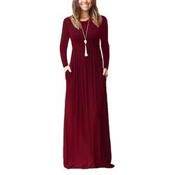 Длинное женское платье Alyd