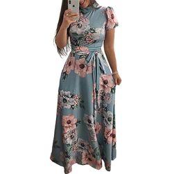 Uzun bayan elbise Romance