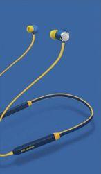 Bluetooth sportovní sluchátka - Modro-žlutá SR_606445