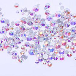 Pietre decorative în formă de diamante - 800 buc. - diverse culori