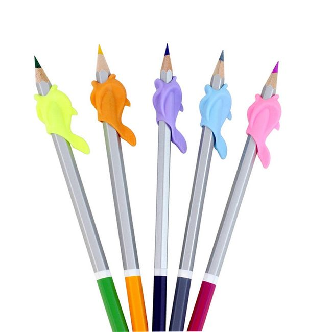 Gumijasto držalo za svinčnike - 5 kosov 1