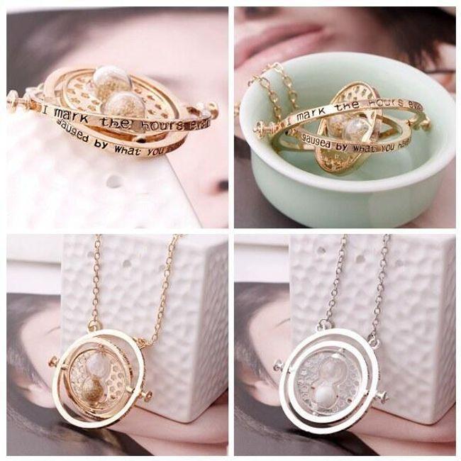 Bezvremenska ogrlica sa peščanim satom 1