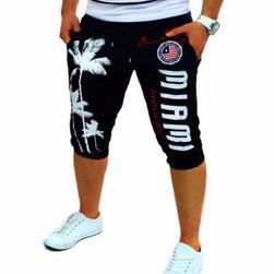 Pantaloni scurți pentru bărbați cu inscripție MIAMI - 2 variante