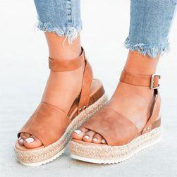 Дамски сандали на платформа Nanaia