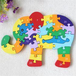 Drveni puzzle B05896
