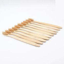 Sada bambusových kartáčků - 10 ks