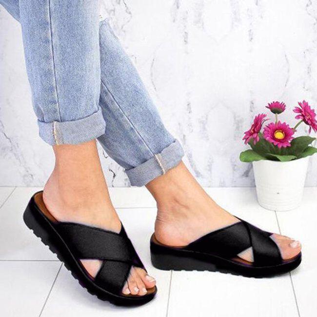 Pantofle na vbočený palec Adeline 1