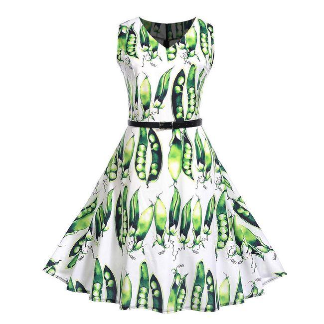 Női A szabású ruha Pea 1