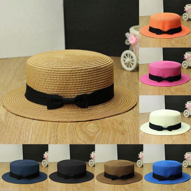 Шляпа канотье для него и для нее- разные расцветки 1