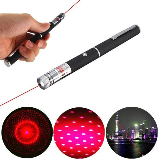 Красная лазерная указка в виде ручки 1