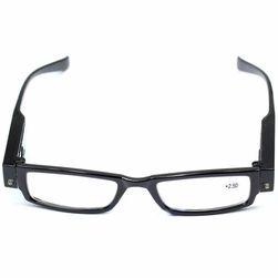 Okulary do czytania ze światłem LED