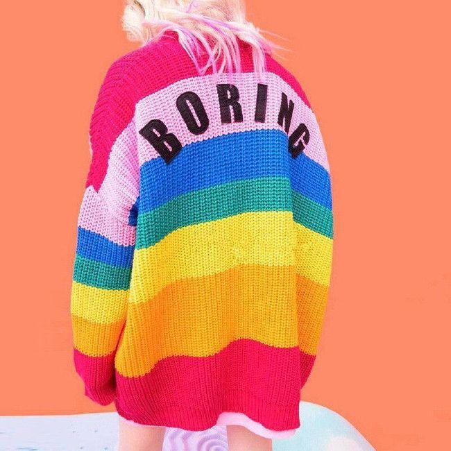 Női kötött pulóver Giselle