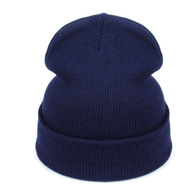 Zimní unisex pletená čepice 1