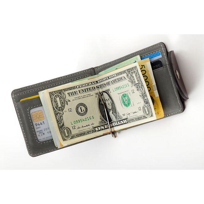 Denarnica s priponko za bankovce 1