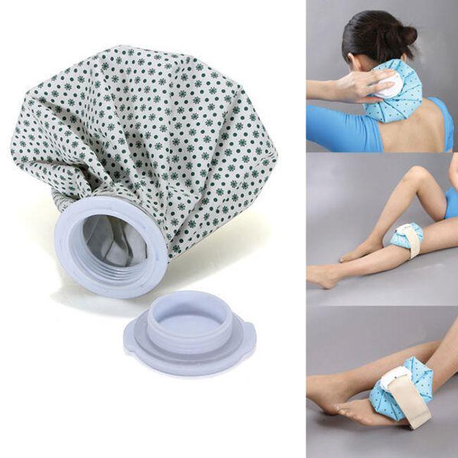Pytlík na led - velice užitečný při zranění 1