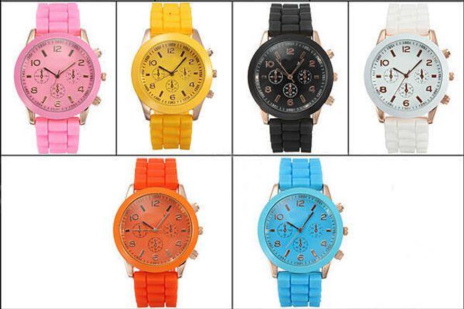 Silikonowy zegarek w 6 modnych kolorach 1