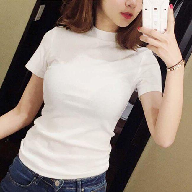 Damska koszulka z krótkim rękawem FD67 1