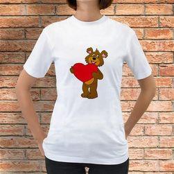 Koszulka Miś z serduszkiem