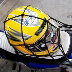 Síťka s háčky na motocykl - 30 x 30 cm