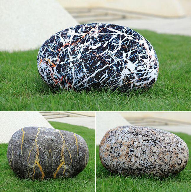 3D párna kő formában - 3 változat 1